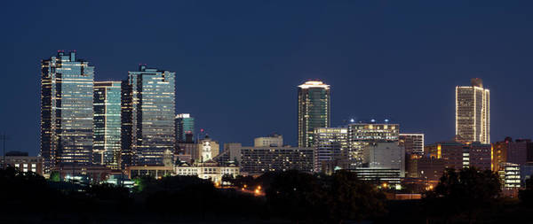 Photograph - Fort Worth Skyline 051918 by Rospotte Photography