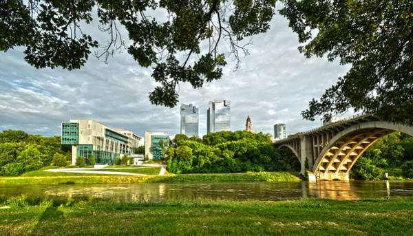 Photograph - Fort Worth Skyline 1 by Ricardo J Ruiz de Porras