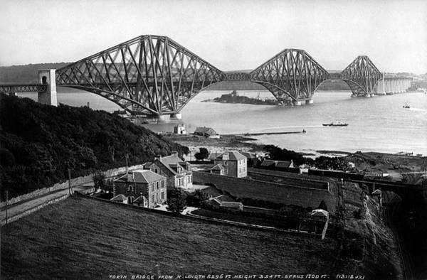 Photograph - Forth Bridge by Lee Santa