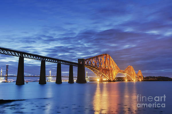 Wall Art - Photograph - Forth Rail Bridge by Rod McLean