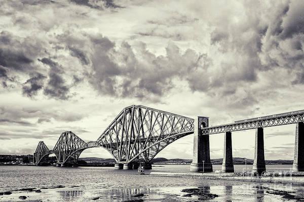 Wall Art - Photograph - Forth Rail Bridge Scotland by Colin and Linda McKie