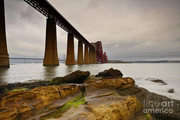 Edinburgh Photograph - Forth Rail Bridge by Smart Aviation