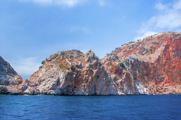 Photograph - Fortifications Of Alanya by Sun Travels