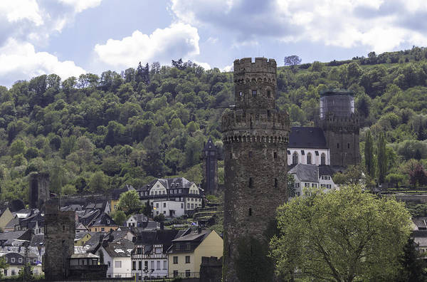 Wall Art - Photograph - Fortified Tower Oberwesel Germany by Teresa Mucha
