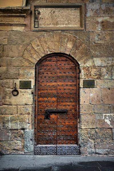 Photograph - Fortress Door by Patricia Strand