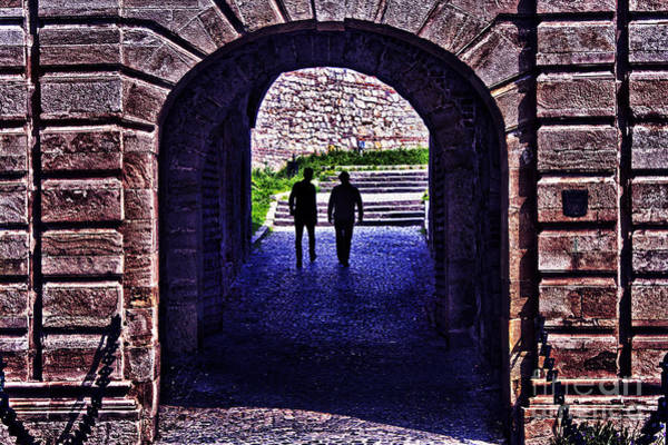 Stari Grad Photograph - Fortress Kalemgdan Gate Belgrade by Milan Karadzic