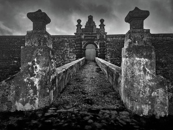 Photograph - Fortress Of Sao Joao Baptista, Monte Brasil, Terceira by Kelly Hazel