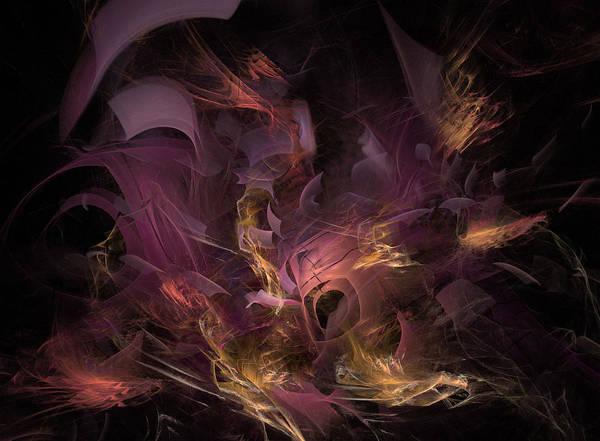 Wall Art - Digital Art - Fortress Of The Mind - Fractal Art by NirvanaBlues