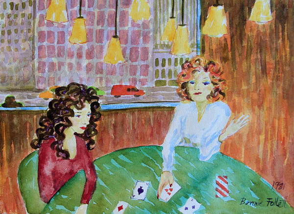 Painting - Fortune Teller by Bonnie Follett