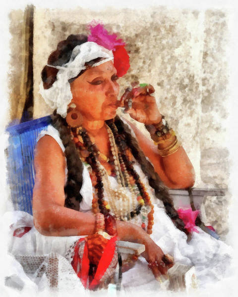 Photograph - Fortune Teller by Dawn Currie