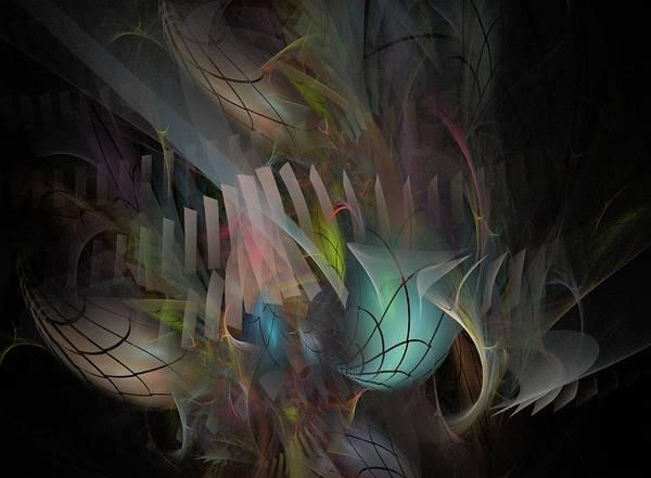 Fate Digital Art - Fortune Willing - Fractal Art by NirvanaBlues