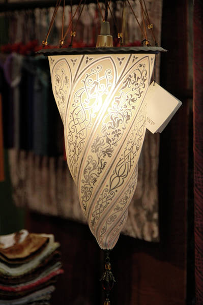 Photograph - Fortuny Lamp by Vicki Hone Smith