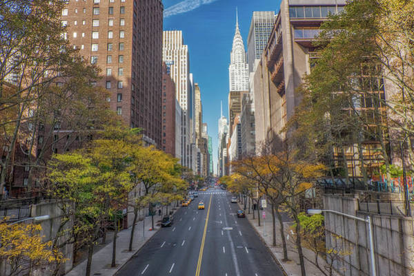 Wall Art - Photograph - Forty Second Street by June Marie Sobrito
