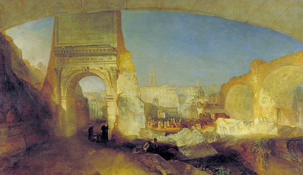J. M. W. Turner Painting - Forum Romanum, For Mr Soane's Museum by JMW Turner