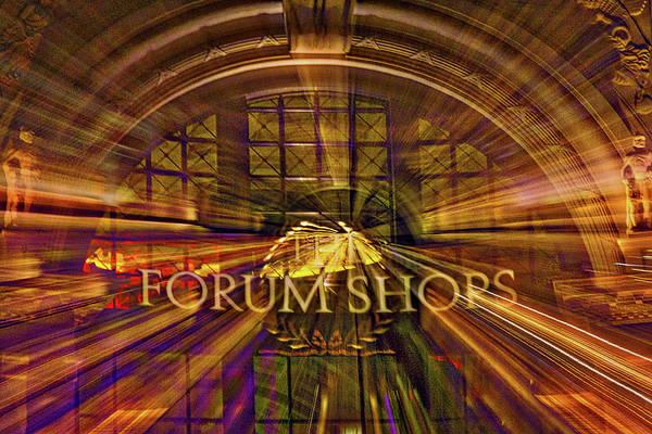 Photograph - Forum Shops - Las Vegas by Stuart Litoff