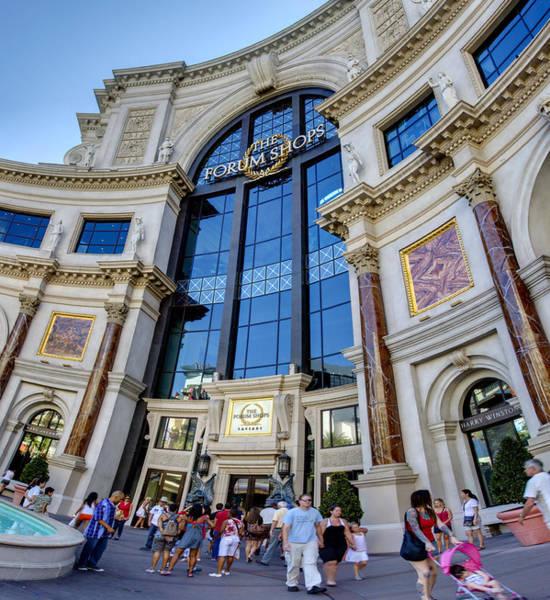Window Shopping Photograph - Forum Shops Vii by Ricky Barnard