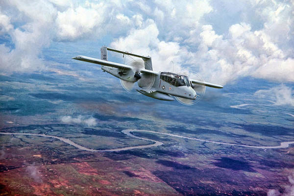 Wall Art - Digital Art - Forward Air Control by Peter Chilelli