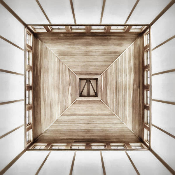 Ceiling Photograph - Forward Or Up by Scott Norris