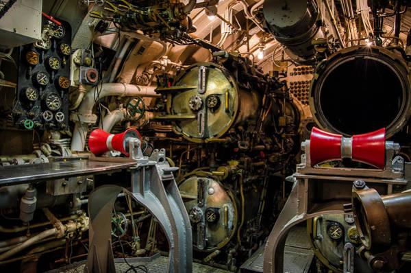 Muskogee Photograph - Forward Torpedo Room by James Barber
