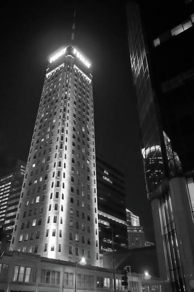 Nighttime Photograph - Foshay Tower, Minneapolis by Jim Hughes