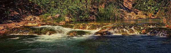 Photograph - Fossil Creek Rapids Pano Dyn by Theo O'Connor