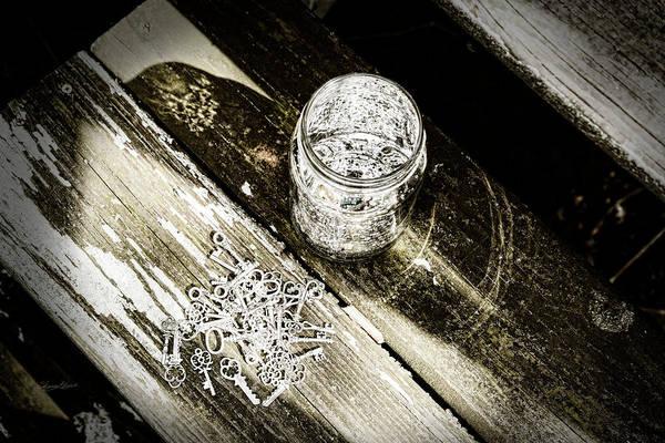 Photograph - Found Keys by Sharon Popek