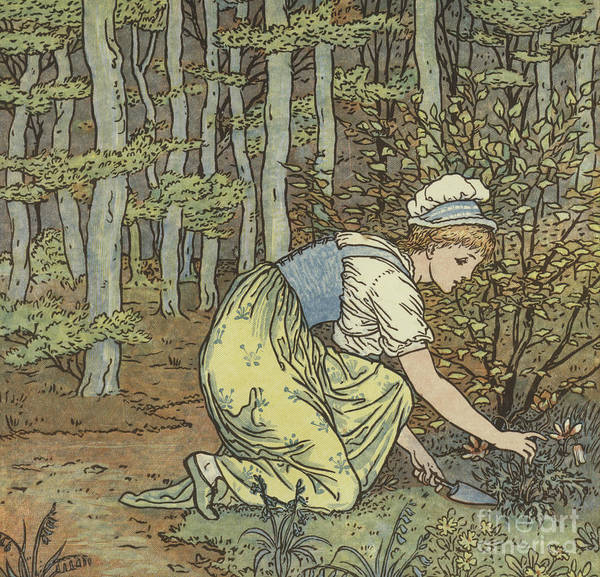 Wall Art - Painting - Found by Walter Crane
