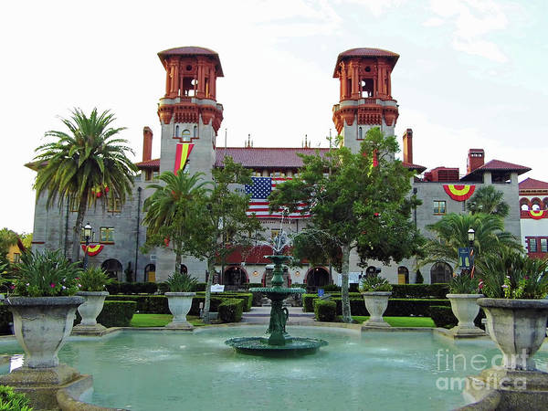 Photograph - Fountain At The Lightner Museum by D Hackett