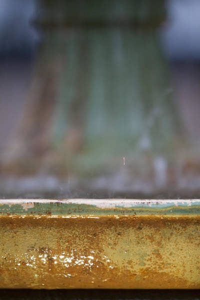 Depth Of Field Photograph - Fountain by Dustin K Ryan