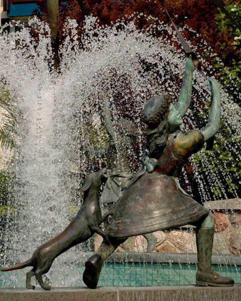 Frankenmuth Photograph - Fountain Girl With Tail by LeeAnn McLaneGoetz McLaneGoetzStudioLLCcom
