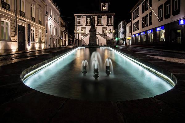Photograph - Fountain In Ponta Delgado, Azores by Sven Brogren