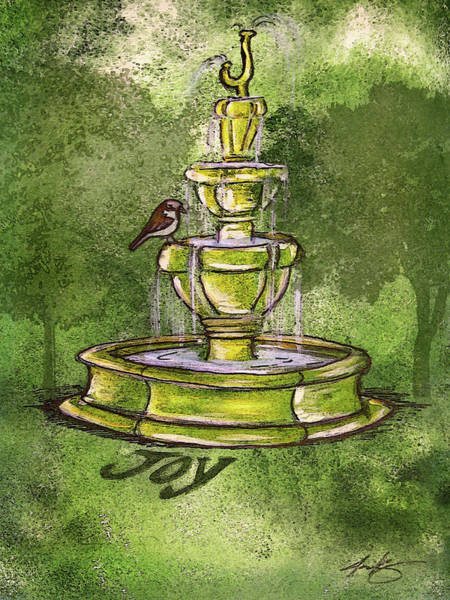 Painting - Fountain Of Joy by Jennifer Page