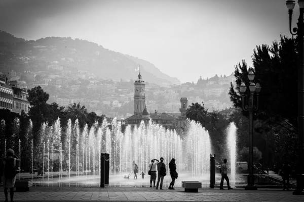 Photograph - Fountain Play by Jason Smith