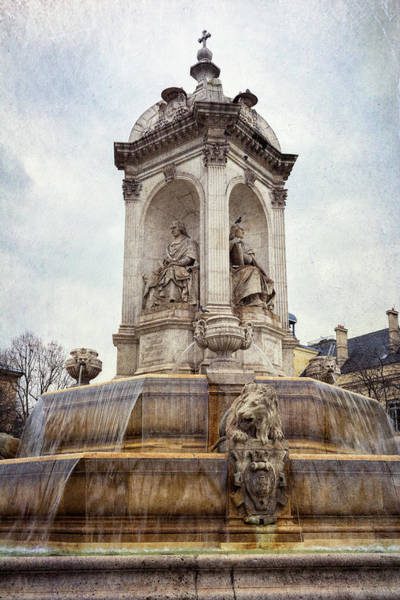 Photograph - Fountain Saint Sulpice by Joan Carroll