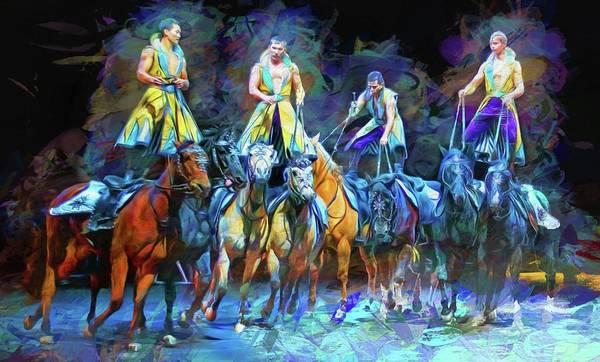 Photograph - Four Horsemen by Alice Gipson