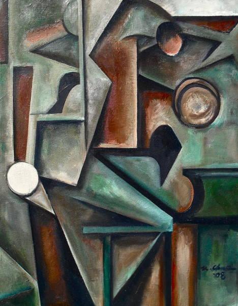 John Coltrane Wall Art - Painting - Four In One by Martel Chapman