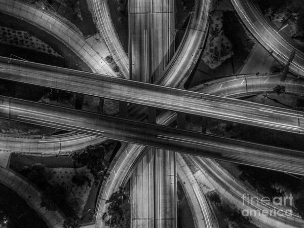 Blvd Photograph - Four Level Interchange by Art K