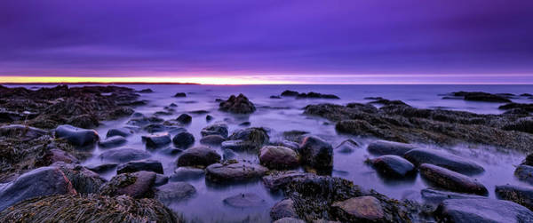 Photograph - Four Minutes. Long Exposure On The New Hampshire Coast. by Jeff Sinon