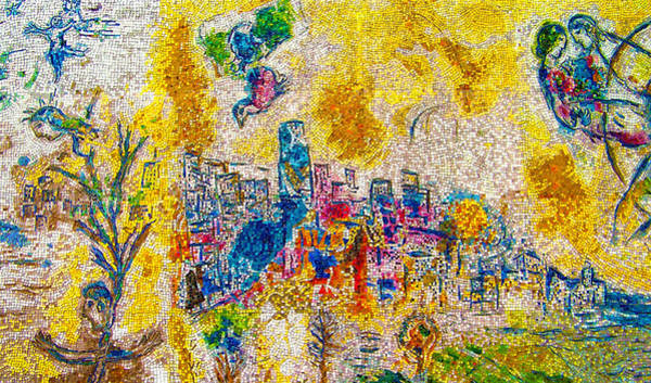 Art Print featuring the photograph Four Seasons Chagall by Kyle Hanson