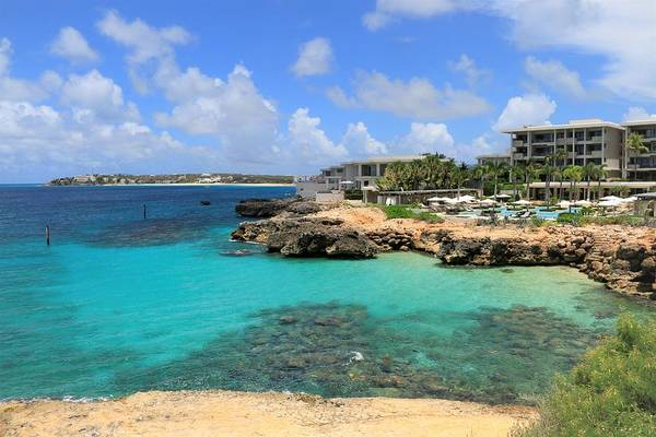 Photograph - Four Seasons Hotel In Anguilla by Ola Allen