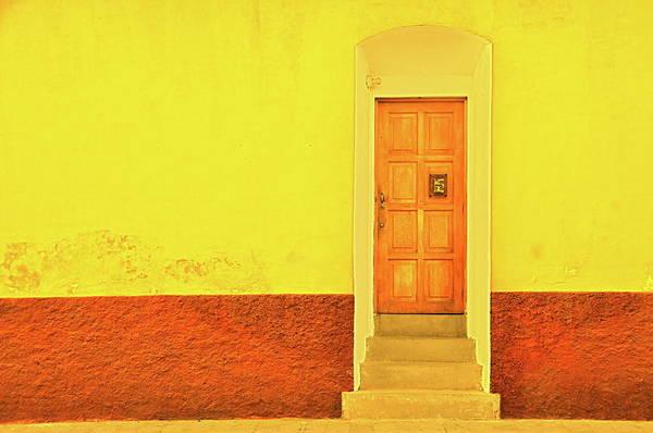Door To Door Photograph - Four Steps Up by Valerie Rosen