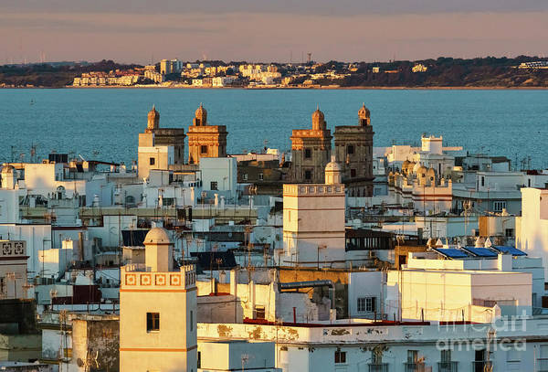 Photograph - Four Towers House From West Tower Cadiz Spain by Pablo Avanzini