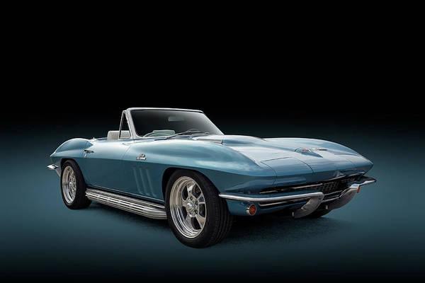Wall Art - Photograph - C2 Blue Corvette by Douglas Pittman