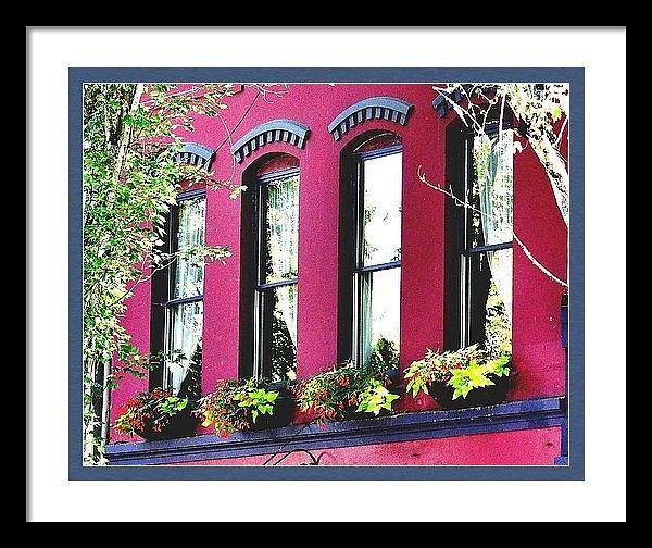Photograph - Four Windows Framed by Jerry Sodorff