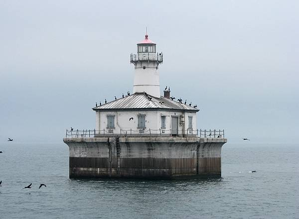 Wall Art - Photograph - Fourteen Foot Shoal Light  by Keith Stokes