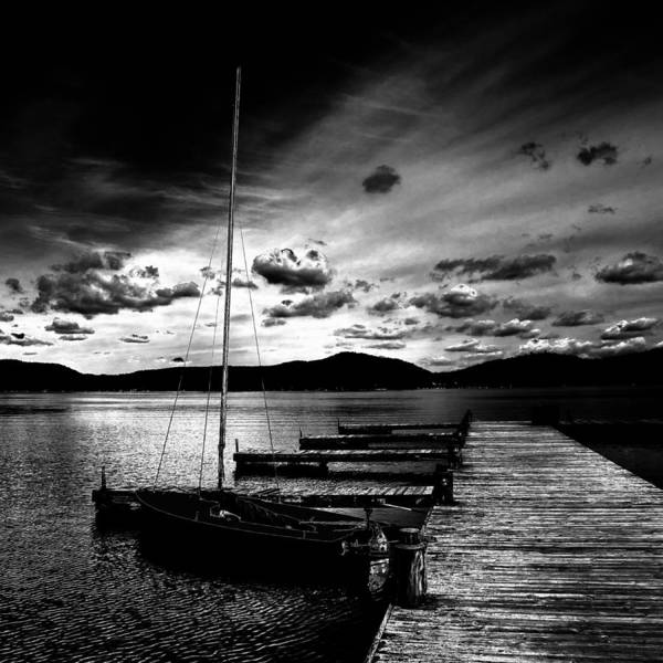 Chain Of Lakes Photograph - Fourth Lake Sunset by David Patterson