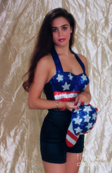 Photograph - Fourth Of July Model by Steve Krull