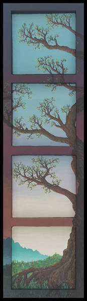 Wall Art - Painting - Fourtre' by Jon Carroll Otterson
