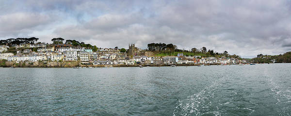Photograph - Fowey Cornwall Panorama From Ferry by Maggie McCall