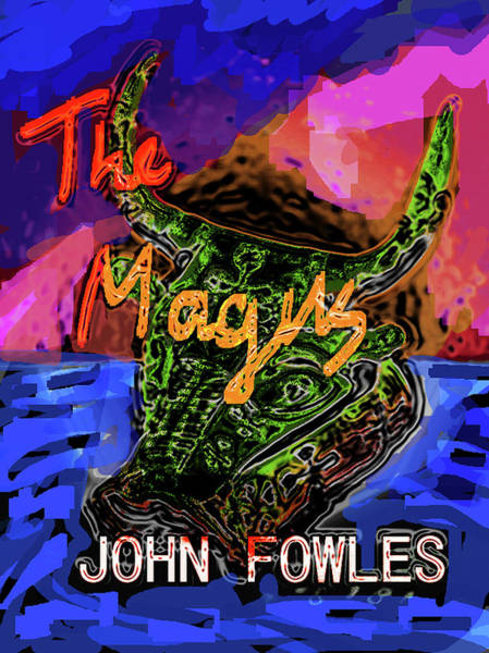 Mixed Media - Fowles Magus Poster  by Paul Sutcliffe
